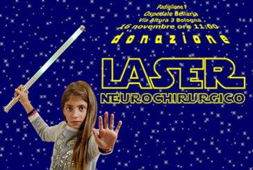 Un laser neurochirurgico donato all'ISNB dall'Associazione Bimbo Tu