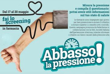 """A Palermo la campagna nazionale di Federfarma """"Abbasso la pressione"""""""