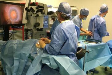 Asst ValtLario è centro pilota per la chirurgia complessa della retina in Oculistica