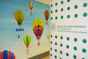 Gli studenti del Venturi colorano la Diabetologia di Modena