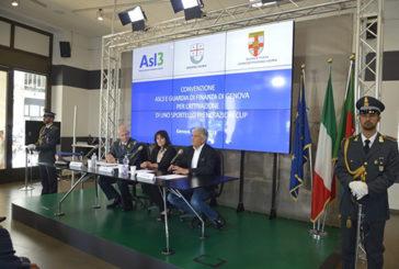 Convenzione Asl3 e GdF di Genova per uno Sportello Prenotazioni Cup