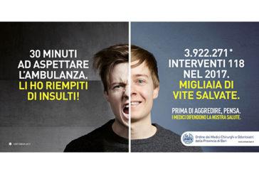 """""""Prima di aggredire, pensa"""", la campagna dei medici contro la violenza"""