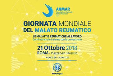 Giornata mondiale malato reumatico, a Roma screening gratuiti