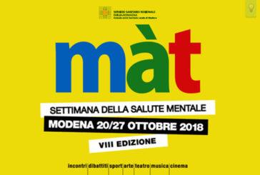 Màt, la Settimana della Salute Mentale: riflessioni in festa