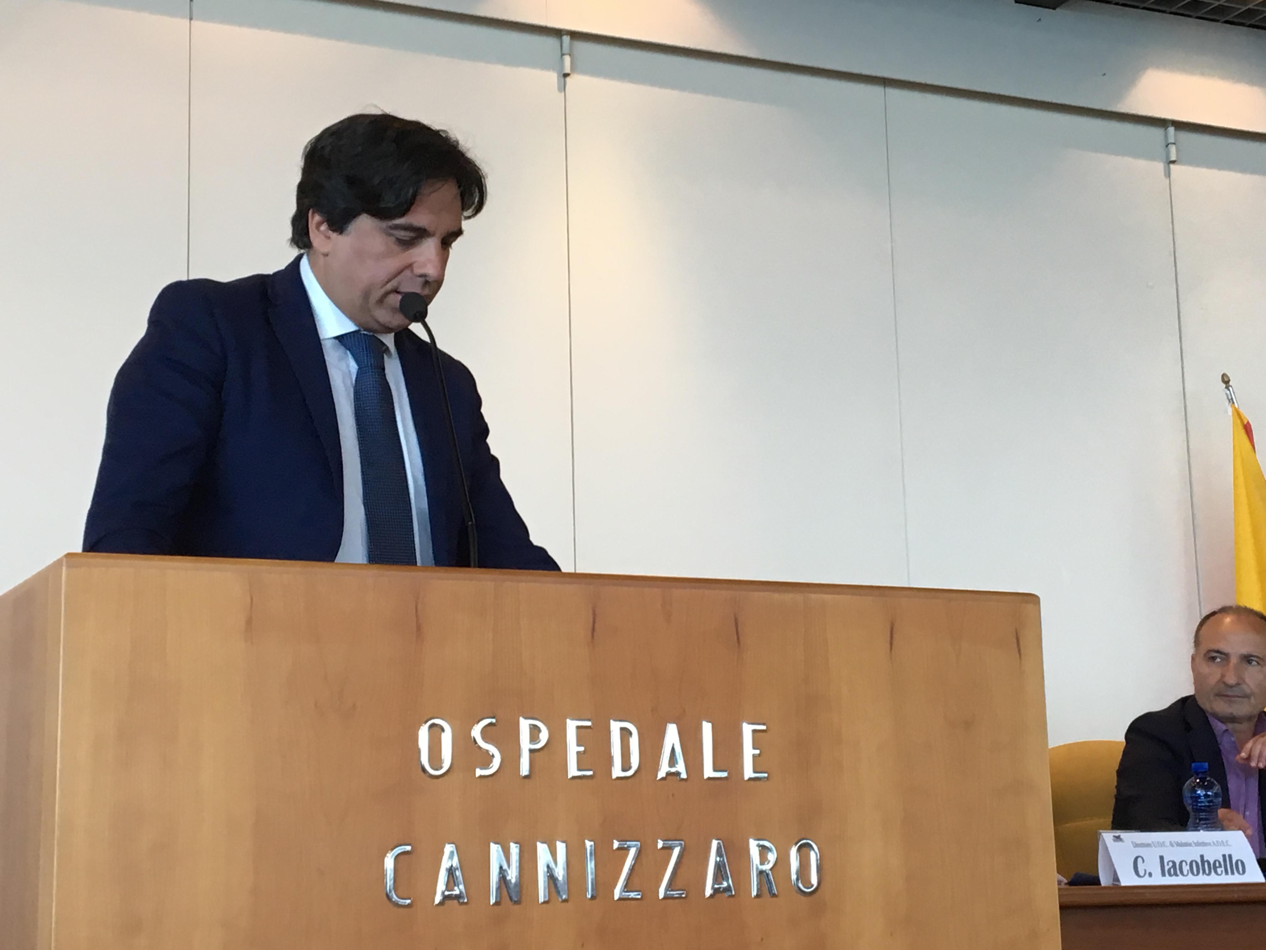 Cannizzaro di Catania nuovo reparto di malattie infettive - Foto Evento Sindaco Catania 03