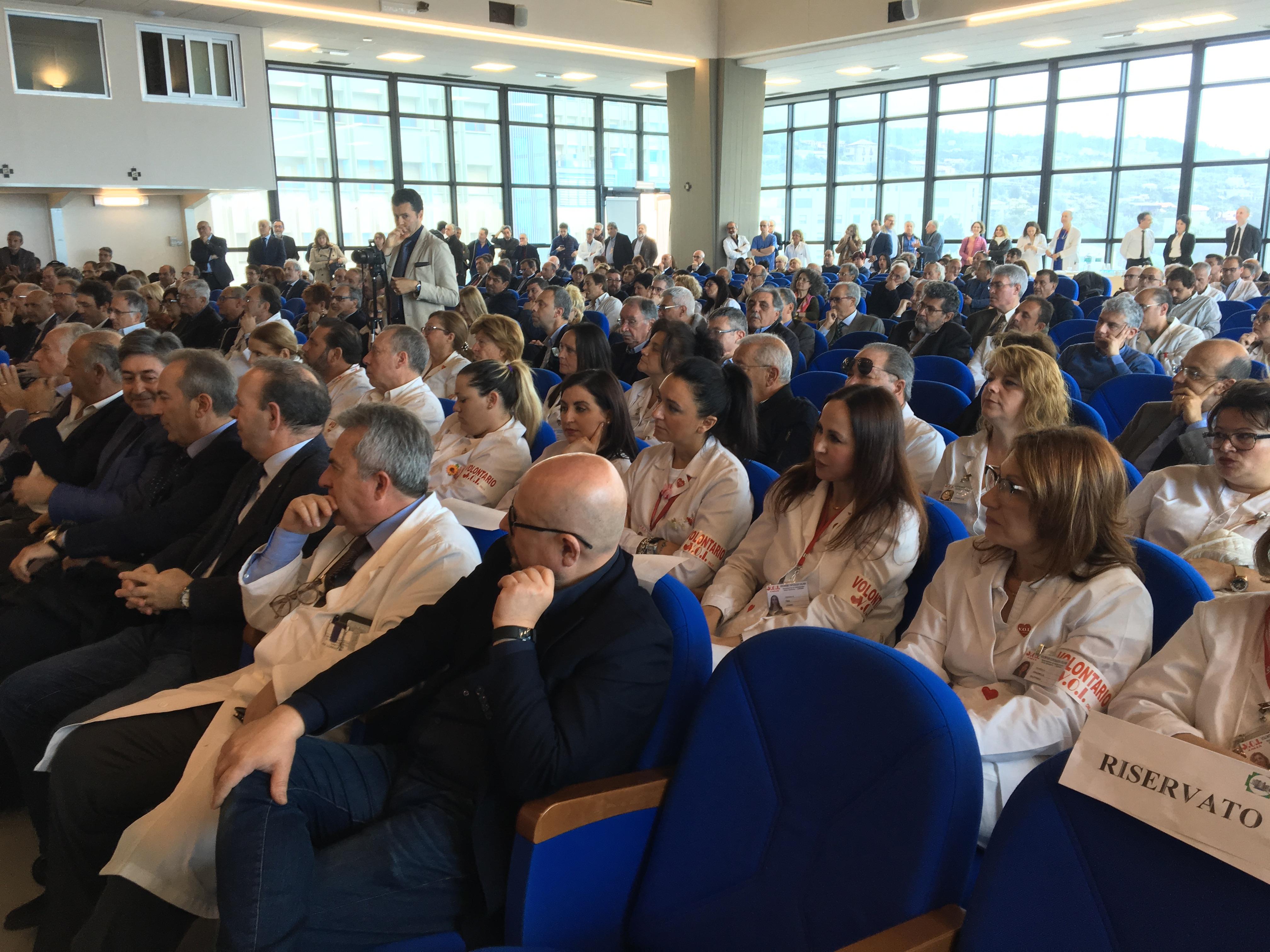 Cannizzaro di Catania nuovo reparto di malattie infettive - Evento sala 07