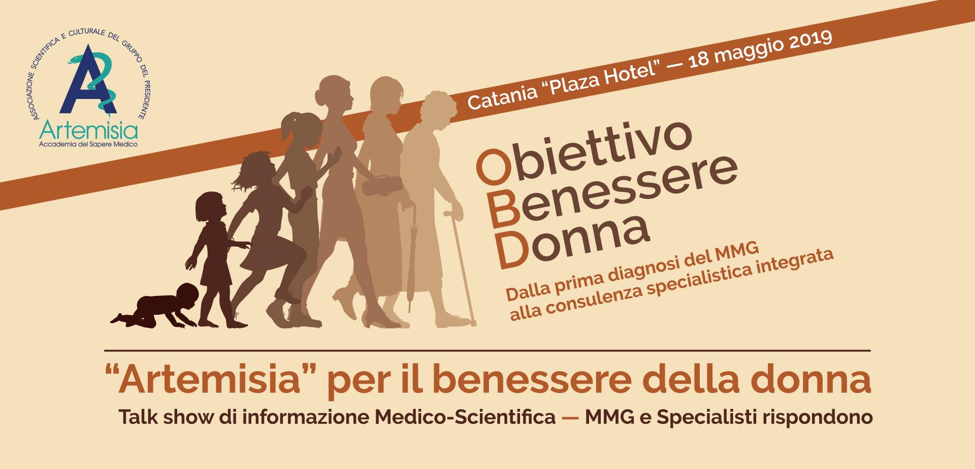 Obiettivo Benessere Donna. Focus dell'Associazione Artemisia su prevenzione, diagnosi e cura delle patologia femminili