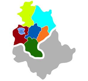 distretti USL Umbria