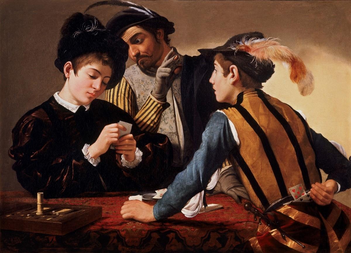 I Bari, dipinta da Michelangelo Merisi da Caravaggio nel 1594 e conservata al Kimbell Art Museum di Fort Worth.