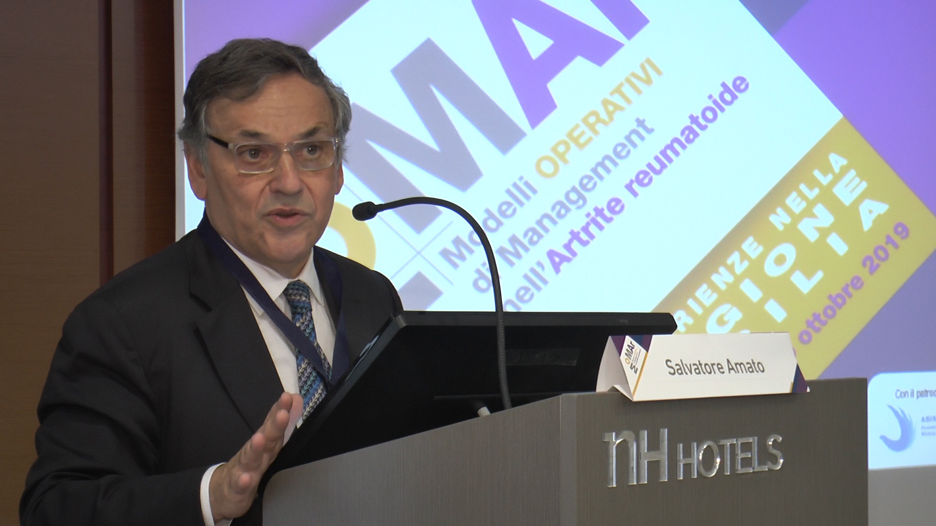 Presidente OMCEO Palermo prof. Salvatore Amato