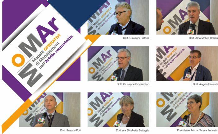 MOMAr Sicilia, video interviste ai protagonisti dell'innovativo progetto dedicato al trattamento dell'artrite reumatoide