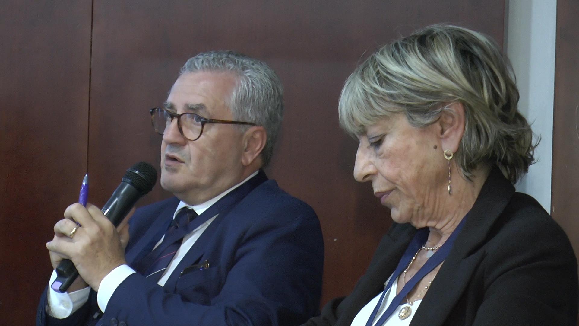 dott.ri Mario Bentivegna e Elisabetta Battaglia