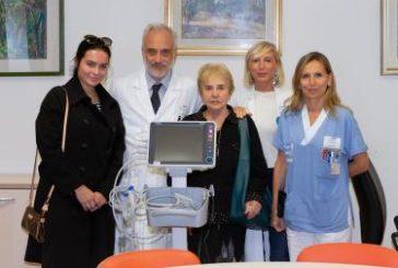 Donato un monitor all'Oncologia del Santa Maria Nuova in memoria di Barbara Mori