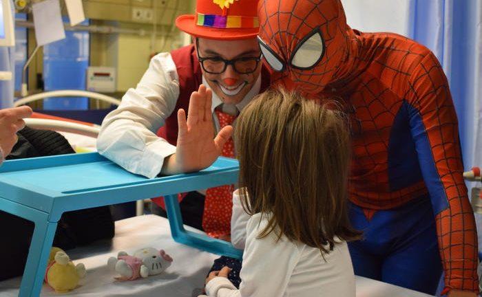 Nell'Ospedale Bambino Gesù arriva il circo 'Bambini in festa'
