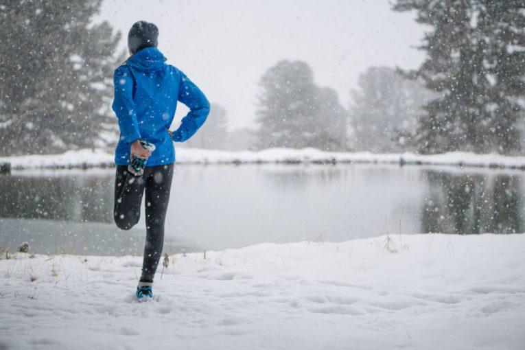 allenamento in inverno