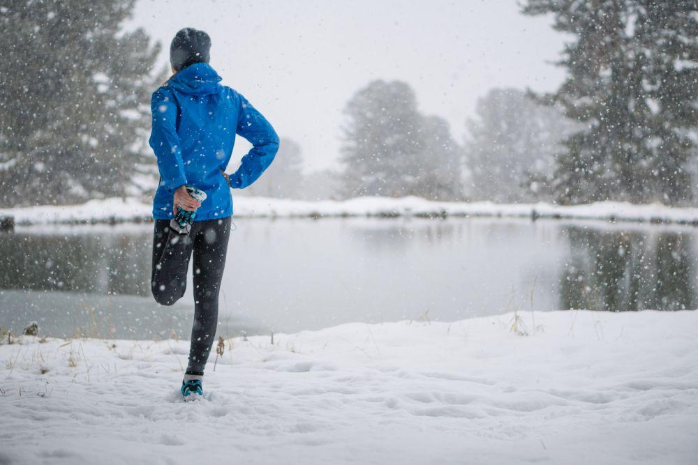 Allenamento in inverno, sì con il raffreddore ma no con la febbre