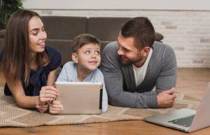 famiglia e social networks