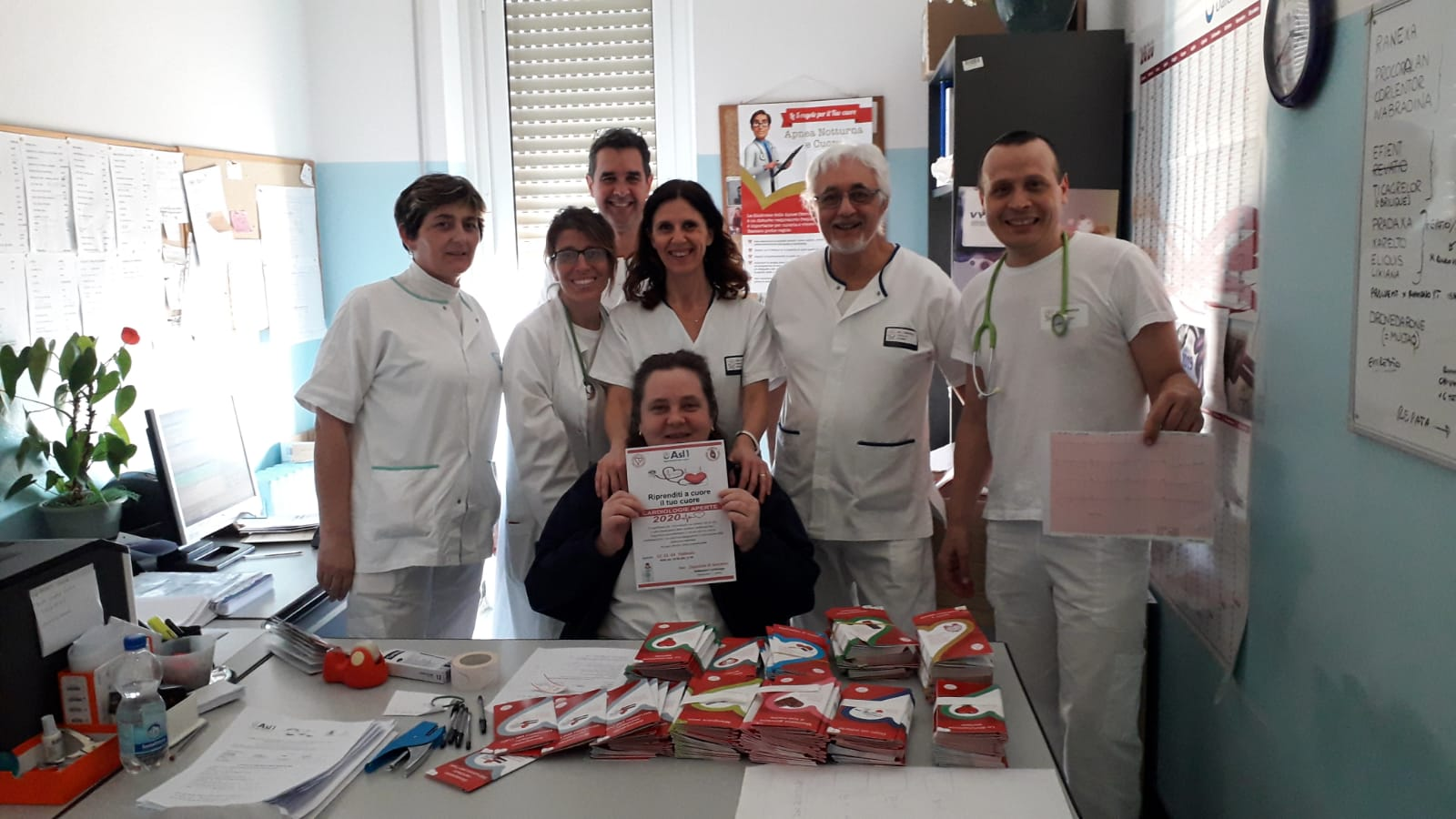 """All'Ospedale di Sanremo ""Cardiologie Aperte"""