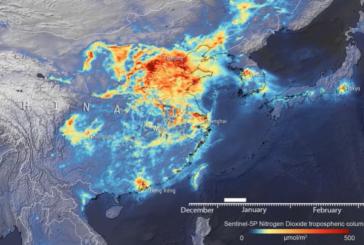 Coronavirus, in Cina crollati i livelli di diossido di azoto