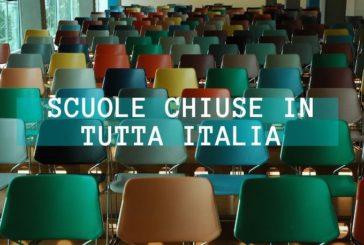 Coronavirus, attività didattica sospesa in Italia fino al 15 Marzo
