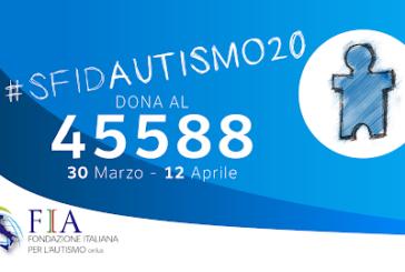 Giornata Mondiale consapevolezza Autismo, iniziativa #sfidAutismo20 di FIA