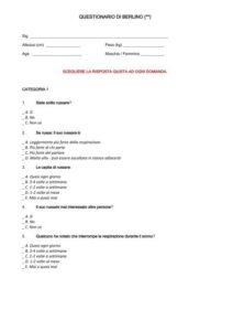 apnea ostruttiva - incidenti automobilistici - polisonnografia - agnoletti 6