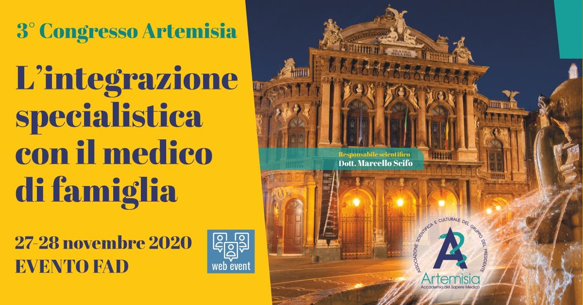 Verso il 3° Congresso Artemisia, intervista al dott. Marcello Scifo