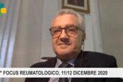 """7° Focus Reumatologico, web event 11 e 12 Dicembre 2020. Bentivegna: """"Ripartiamo dalla telemedicina e dalla teleassistenza"""""""