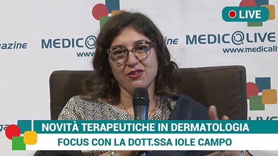 Terapia malattie dermatologiche, intervista alla dott.ssa Iole Campo