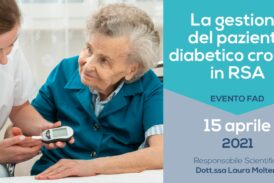 La gestione del paziente diabetico cronico in RSA