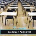scadenza concorsi 4 Aprile 2021