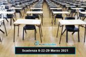 Scadenza concorsi: 8-22-29 Marzo 2021