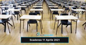 scadenza concorsi 11 Aprile 2021